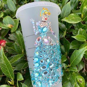 Cinderella Crystalized Venti Starbucks Tumbler Cup